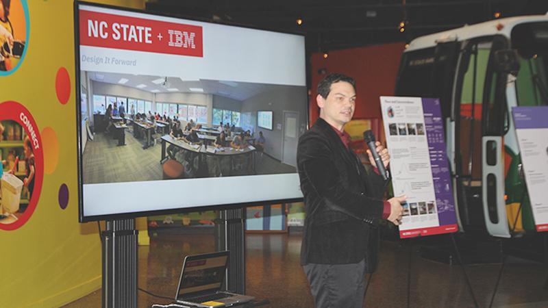 IBM Design Director, Steve Kim provides the opening remarks